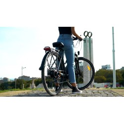 GIANT INFLATABLE RIDE-ON GLITTER FLAMINGO